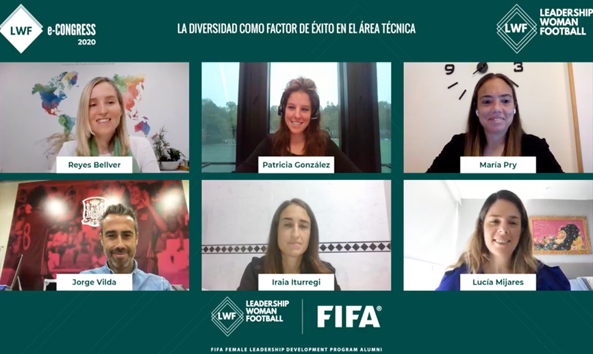 Jorge Vilda, participante destacado en el evento internacional Leadership Women Football
